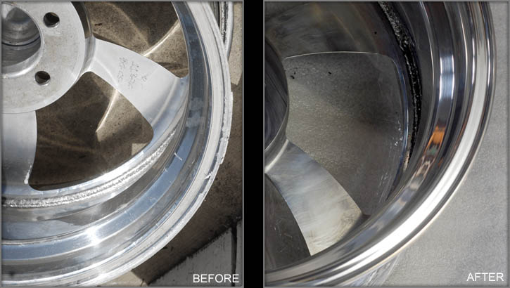 Billet Specialties Wheel Lip Repair